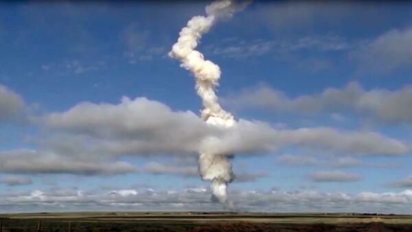 Rosyjskie WKS przeprowadziły test nowej rakiety systemu przeciwlotniczego  - Sputnik Polska