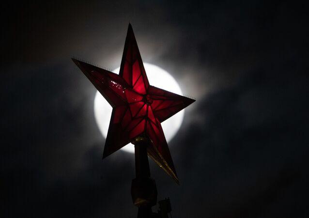 Czerwona Gwiazda na Kremlu