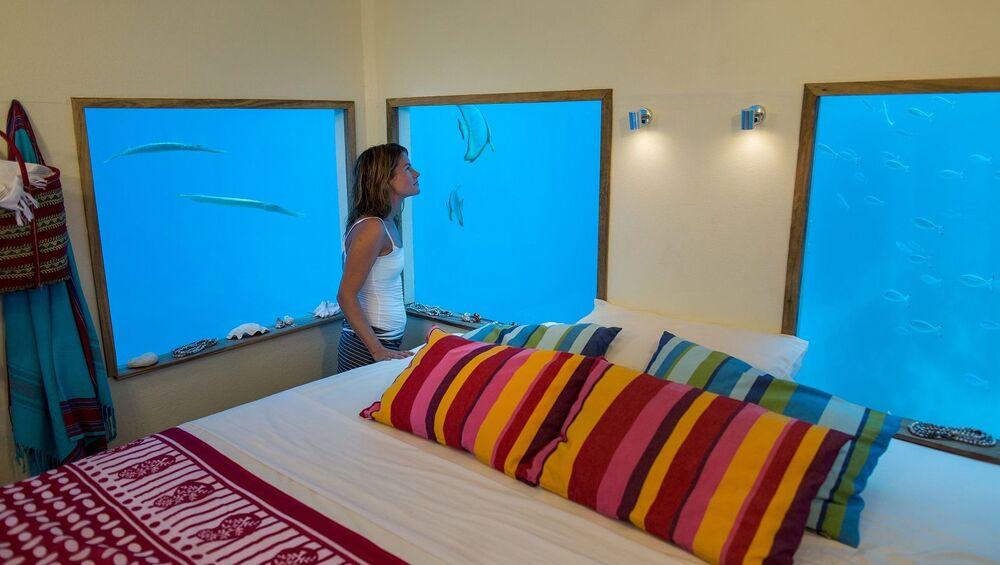 Hotel pod wodą Manta Resort w Tanzanii