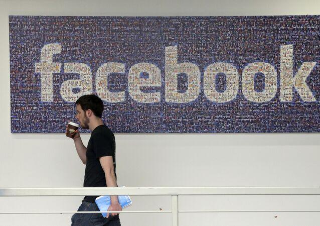 Serwis społecznościowy Facebook.