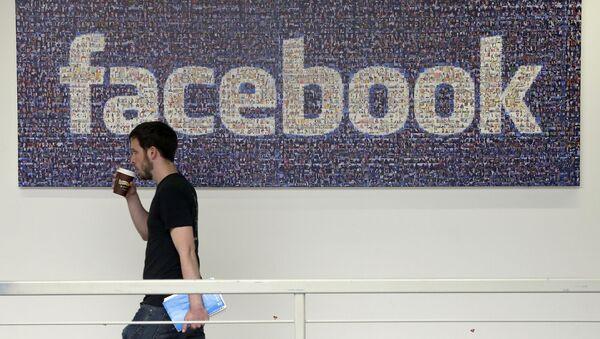 Serwis społecznościowy Facebook - Sputnik Polska