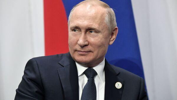 Prezydent Federacji Rosyjskiej Władimir Putin - Sputnik Polska