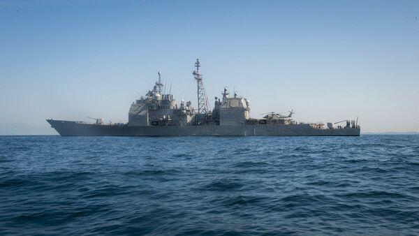 Amerykański krążownik USS Chancellorsville  - Sputnik Polska