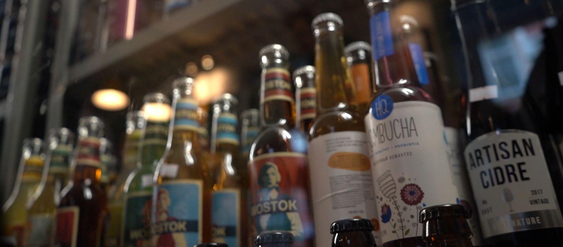 Polskie piwa kraftowe podczas rosyjskiego festiwalu BigCraftDay 2019 - Sputnik Polska, 1920, 07.06.2019