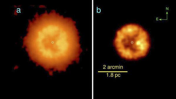 Gwiazda J005311 znajduje się w odległości 10 tys. lat świetlnych od Ziemi, w Gwiazdozbiorze Kasjopei. - Sputnik Polska