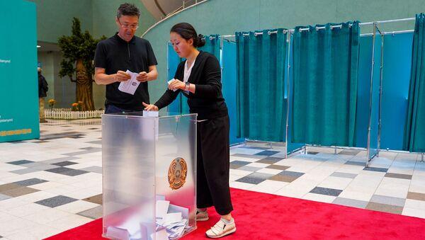 Wybory prezydenckie w Kazachstanie - Sputnik Polska