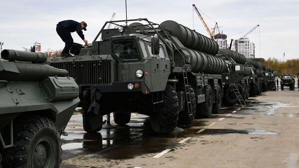 """Kompleks przeciwlotniczy dużego zasięgu S-400 """"Triumf - Sputnik Polska"""