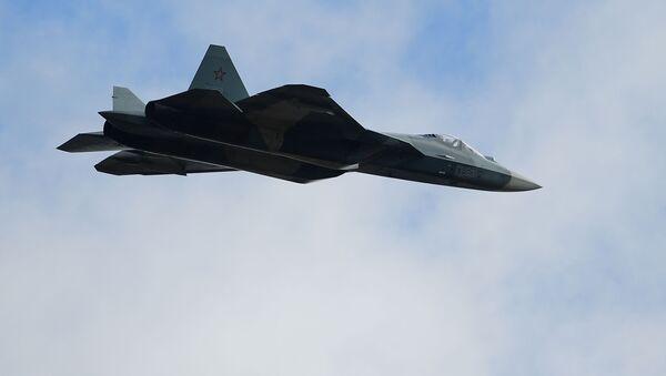 Wielozadaniowy myśliwiec Su-57 - Sputnik Polska