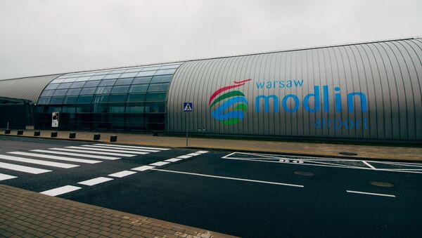 Lotnisko w Modlinie - Sputnik Polska