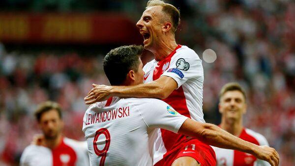 Mecz eliminacji Mistrzostw Europy Polska-Izrael  - Sputnik Polska