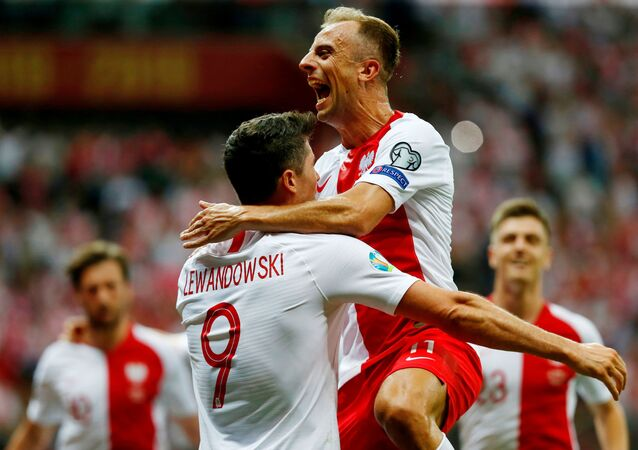 Mecz eliminacji Mistrzostw Europy Polska-Izrael