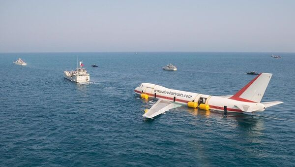 Budowa największego tematycznego parku podwodnego na świecie, którego główną ekspozycją będzie Boeing 747 - Sputnik Polska