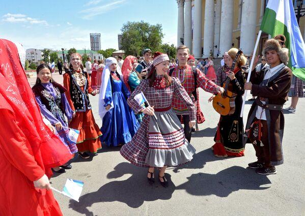 Obchody Dnia Rosji w Czelabińsku - Sputnik Polska