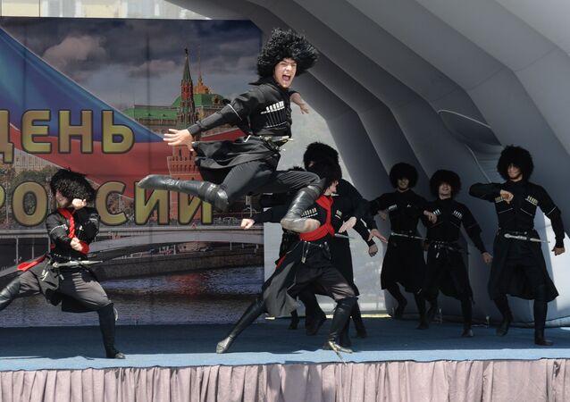 Obchody Dnia Rosji w Groznym
