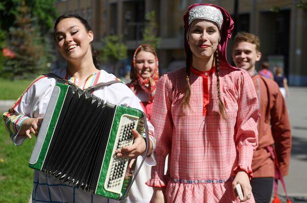 Obchody Dnia Rosji w Kazaniu - Sputnik Polska