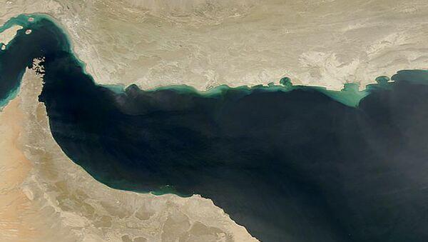 Zdjęcie Zatoki Omanu z kosmosu - Sputnik Polska
