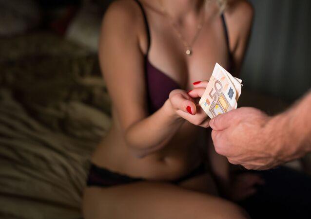 Prostytutka, klient, pieniądze