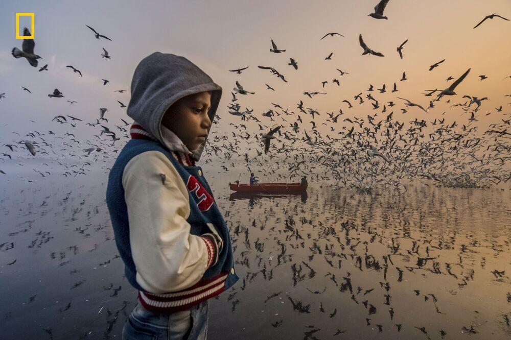 Fotograf Navin Vatsa został wyróżniony w nominacji People