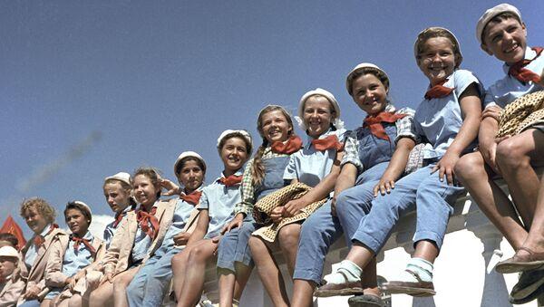 Dzieci w obozie Artek, 1963 rok - Sputnik Polska
