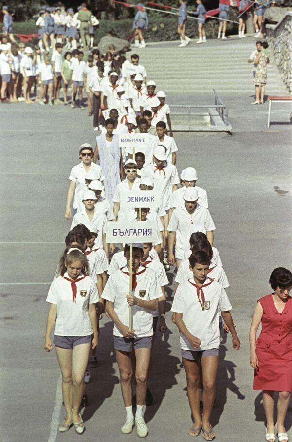 Dzieci w obozie Artek, 1967 rok - Sputnik Polska