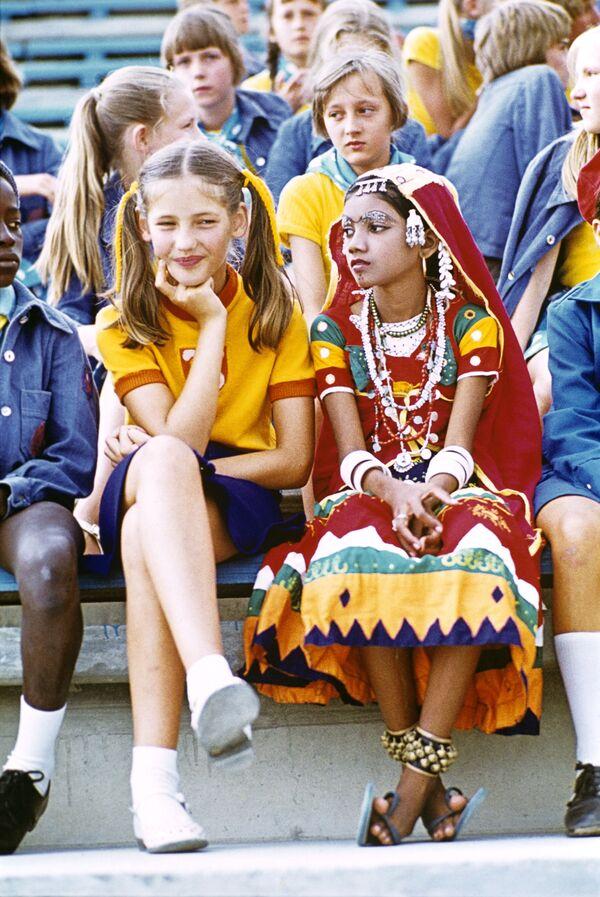 Dziewczynka z Indii w Arteku, 1978 rok - Sputnik Polska