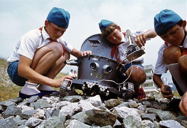 Dzieci w obozie Artek, 1978 rok - Sputnik Polska