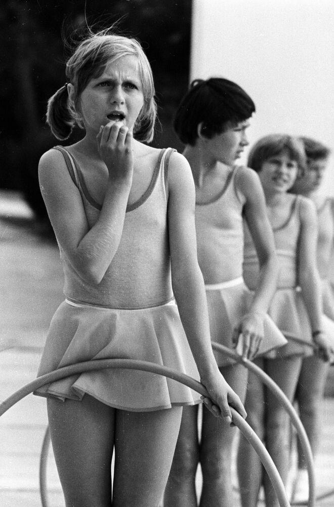 Gimnastyczki w Arteku, 1977 rok