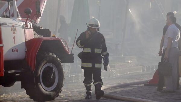 Straż pożarna, Ukraina - Sputnik Polska