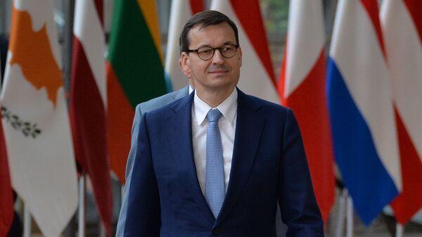 Mateusz Morawiecki podczas nieformalnego szczytu UE w Brukseli - Sputnik Polska