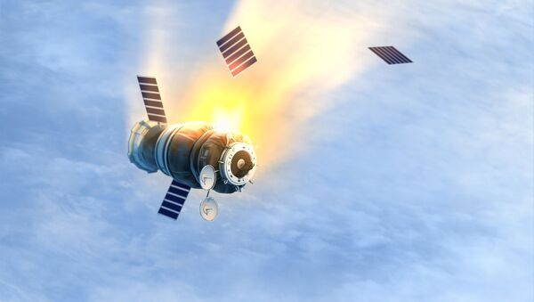 Satelita na orbicie ziemskiej - Sputnik Polska