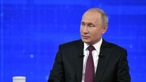 Gorąca linia z Putinem  - Sputnik Polska