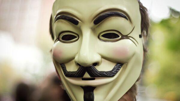 Anonymous Mask - Sputnik Polska