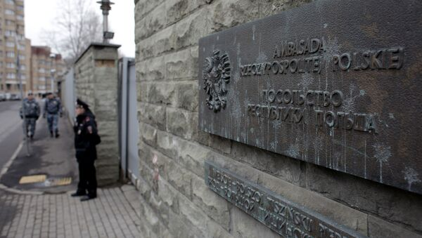 Ambasada Rzeczypospolitej Polskiej w Federacji Rosyjskiej - Sputnik Polska