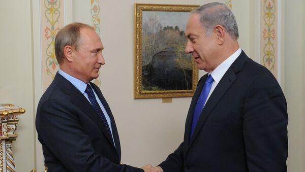 Władimir Putin i Binjamin Netanjahu - Sputnik Polska