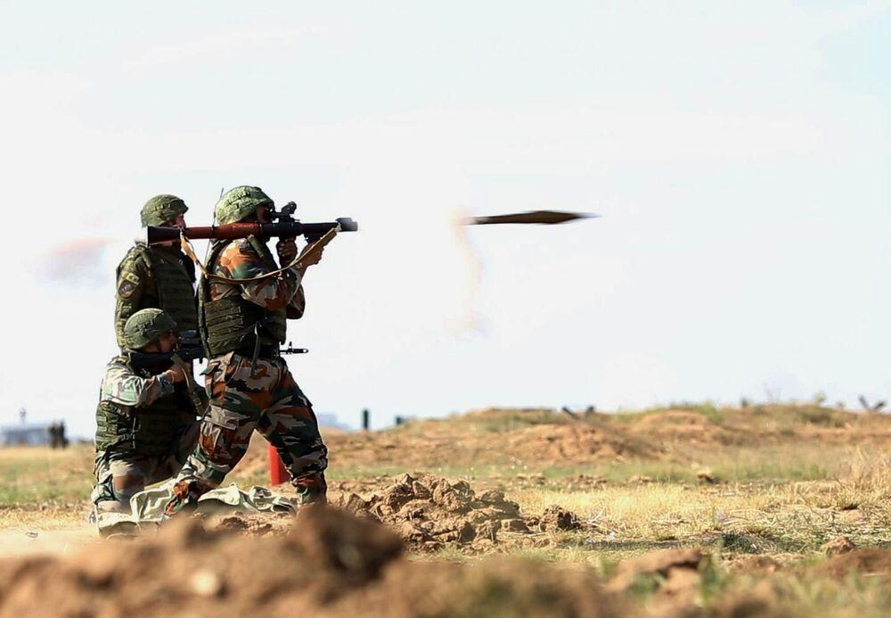 Wspólne ćwiczenia wojskowe Indra - 2014