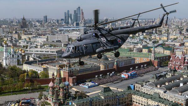 Wielozadaniowy śmigłowiec Mi-8 - Sputnik Polska