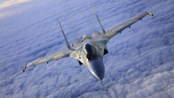 Myśliwiec Su-35 - Sputnik Polska