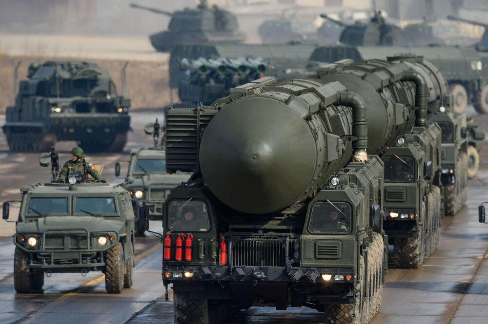 Rakietowy pocisk balistyczny Topol-M