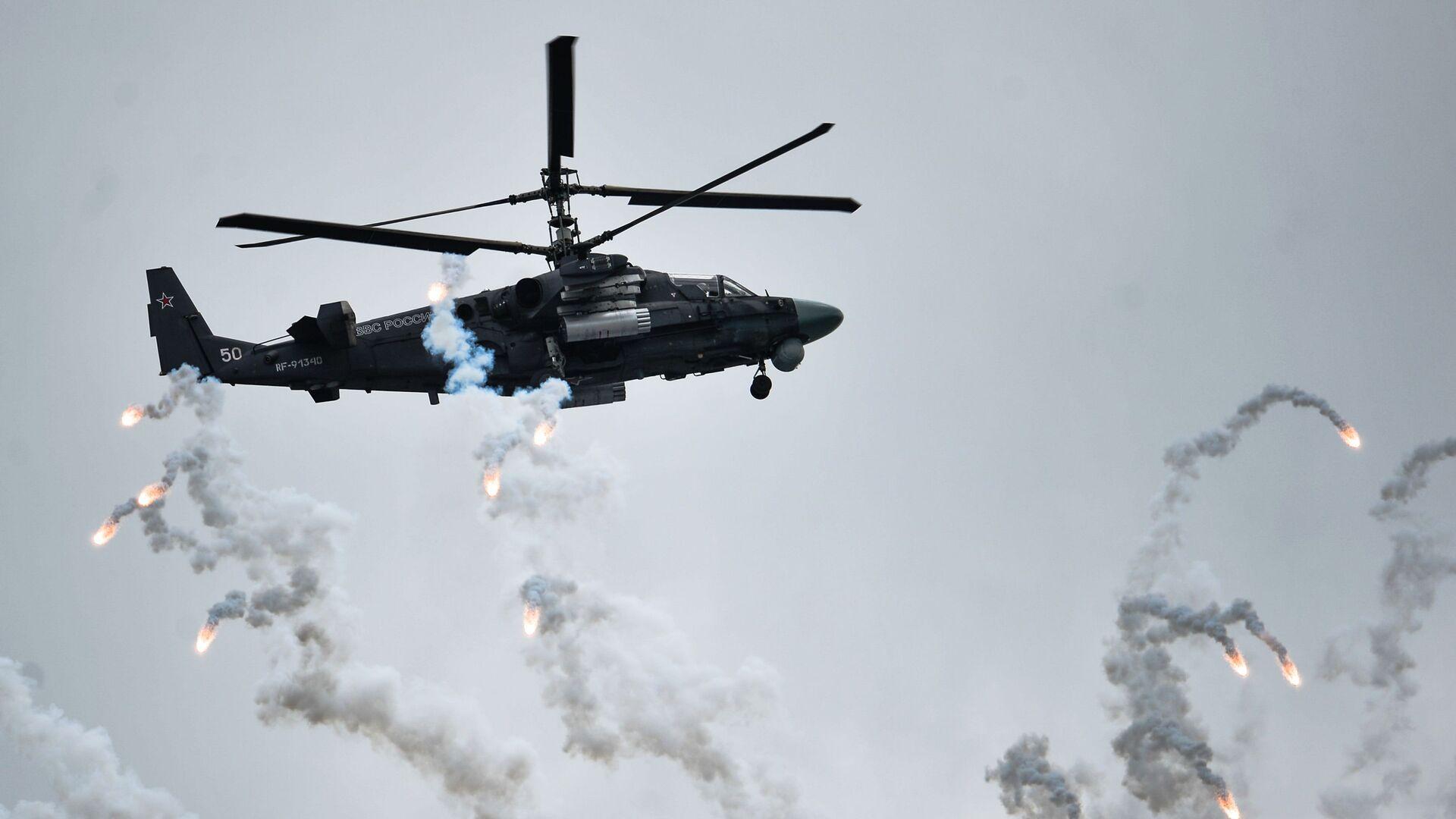 Śmigłowiec Ка-52 Aligator na międzynarodowym konkursie Awiadarts-2015 - Sputnik Polska, 1920, 24.07.2021