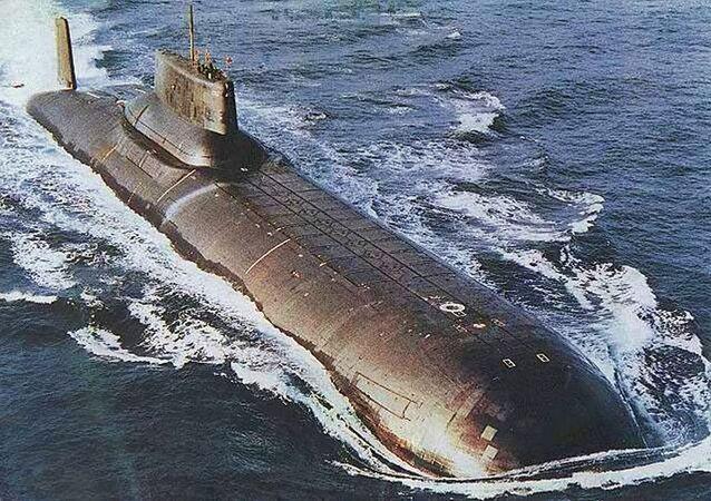 Łódż podwodna projektu 941 «Rekin»