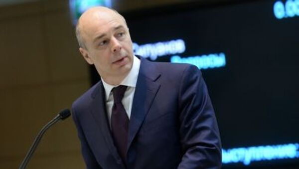 Minister finansów Rosji Anton Siłuanow - Sputnik Polska
