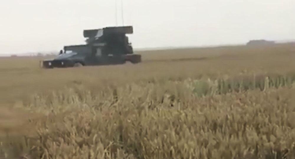 Wojska NATO zabłądziły na polu przenicy