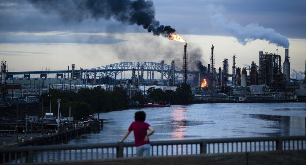 Pożar w rafinerii (Philadelphia Energy Solutions Refinery)