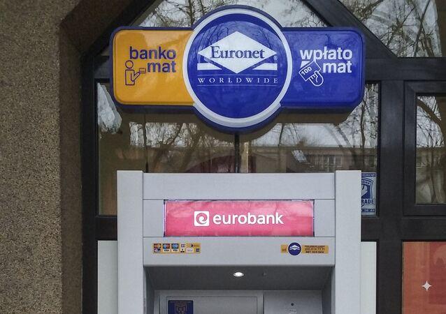 Bankomat sieci Euronet Worldwide