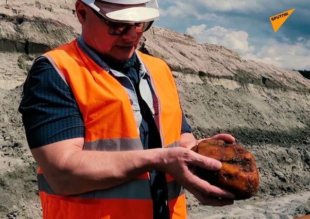 Jak wydobywa się bursztyn na brzegu Morza Bałtyckiego