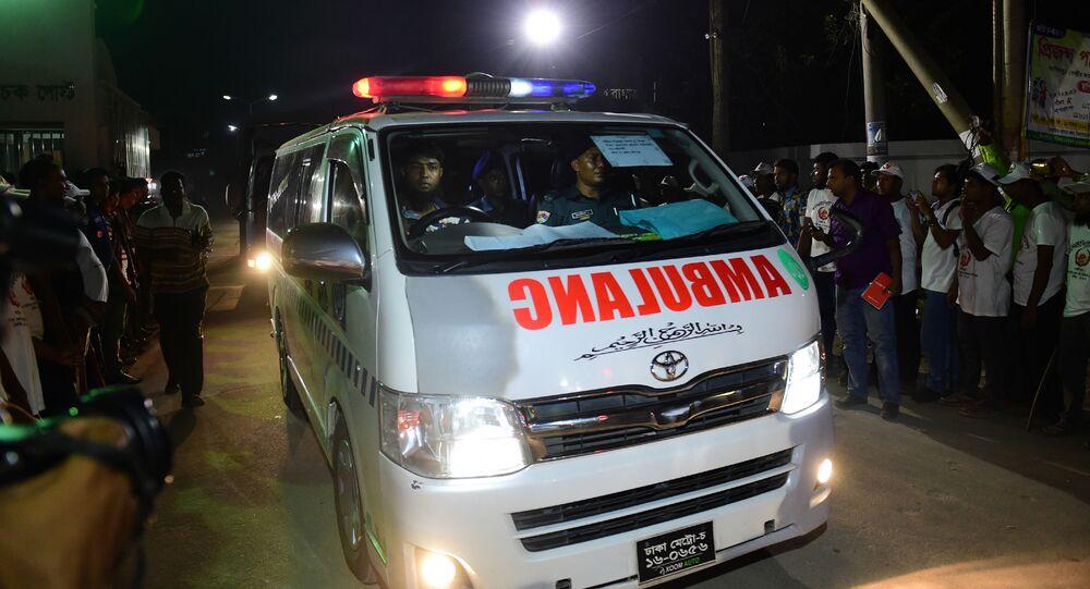 Karetka pogotowia, Bangladesz