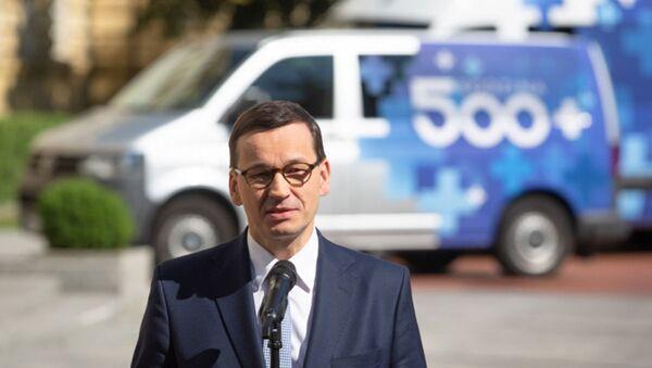 Premier Polski Mateusz Morawiecki - Sputnik Polska