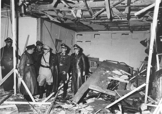 Pomieszczenie baraku, w którym 20 lipca 1944 roku dokonano zamachu na Adolfa Hitlera