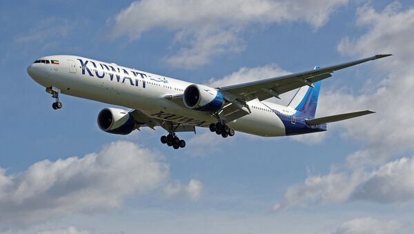 Boeing 777 linii lotniczych Kuwait Airways. Zdjęcie archiwalne - Sputnik Polska