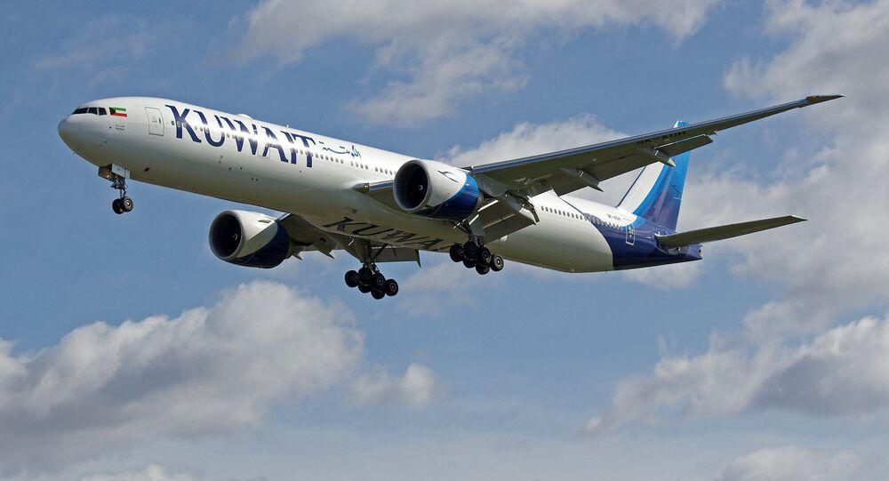 Boeing 777 linii lotniczych Kuwait Airways. Zdjęcie archiwalne